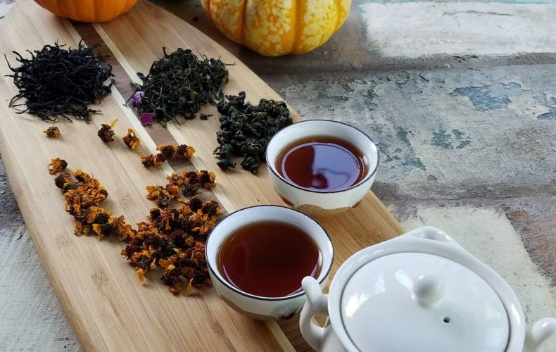 tea tasting - travel with chef